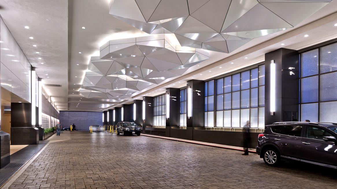 LAX Hilton Porte Cochere